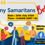 26/07/2020 – Many Samaritans Believe