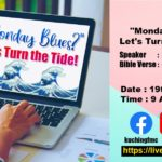 19/07/2020 – Monday Blues? Let's Turn the Tide!