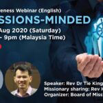 Be Missions-Minded